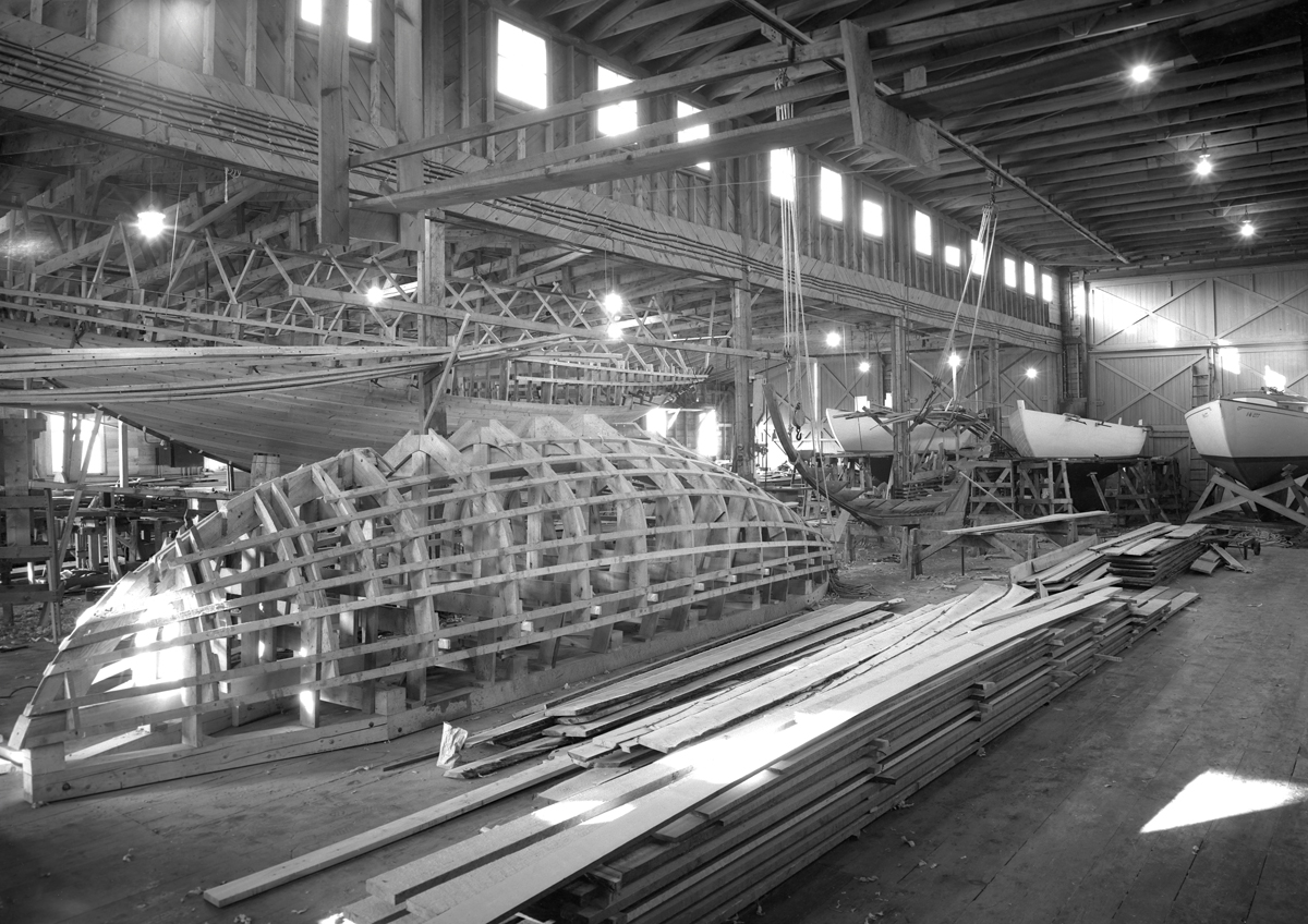 Hinckley Boat Production and Construction