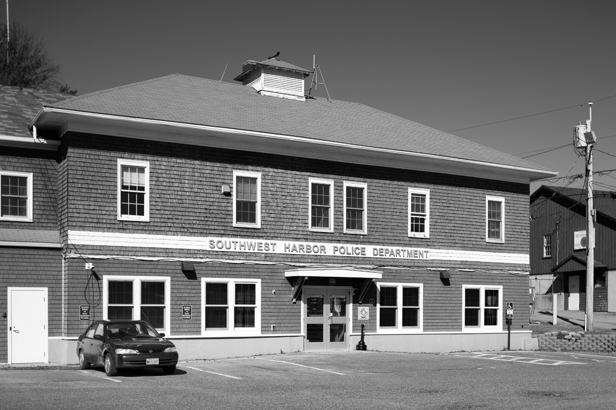 Old Primary School as Southwest Harbor Police Department