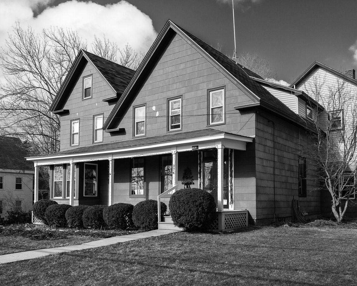 The John T.R. Freeman House as the Prentice and Gretchen K. Strong House - Penury Hall