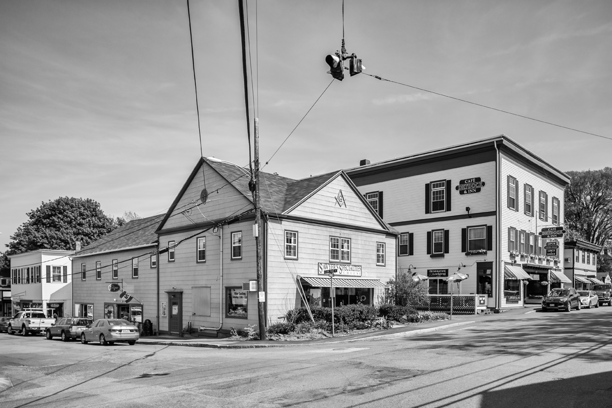 Second Masonic Hall Building and Sawyer's Specialties