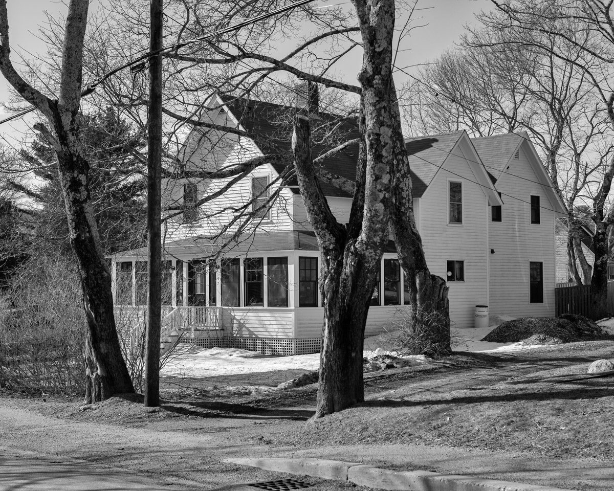 House at the Location of the Simeon Holden Mayo's Blacksmith and Bicycle Shop