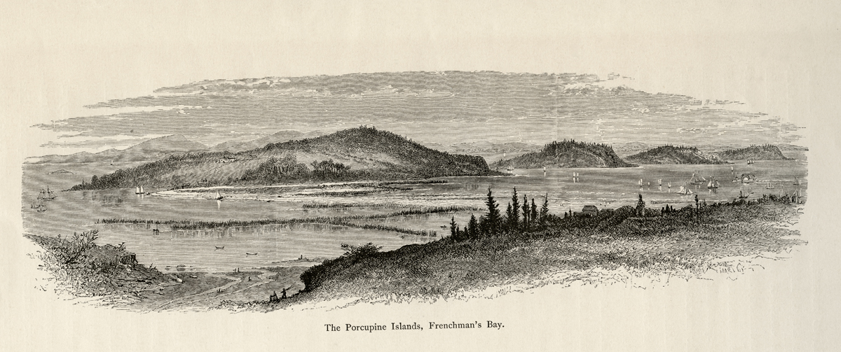 The Porcupine Islands, Frenchman's Bay