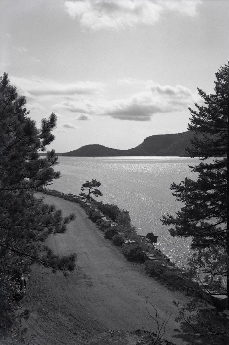 Sargeant Drive and Somes Sound, Mount Desert, Maine
