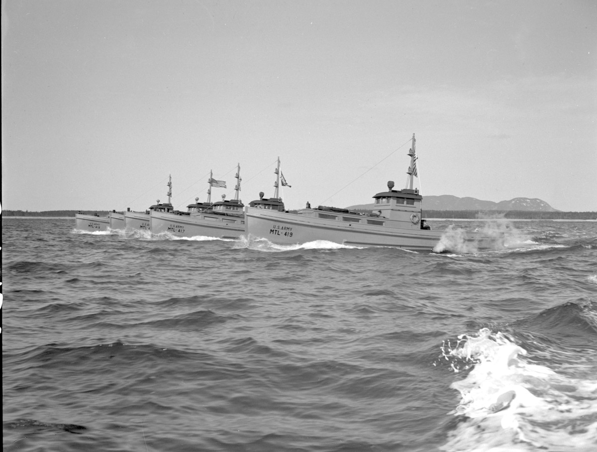 WWII Boats built by the Henry R Hinckley Company