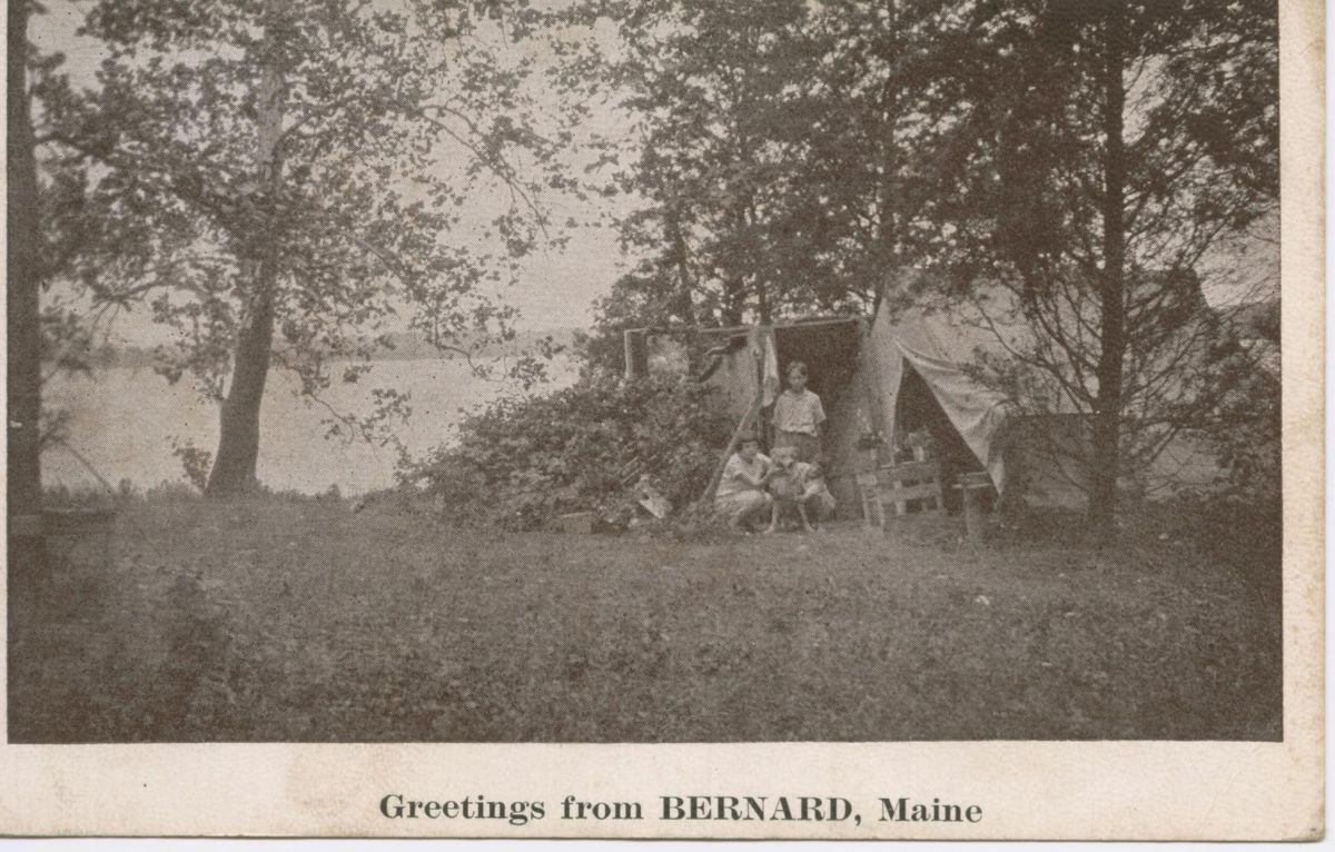 Greetings from Bernard, Maine