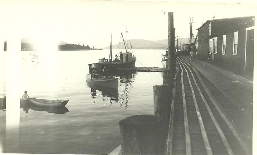 Boats at J. L. Stanley Fishery Wharf