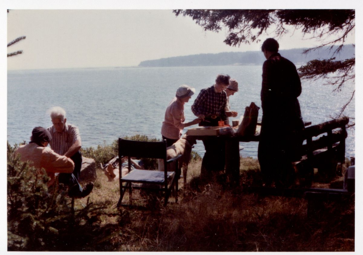 Picnic on Placentia Island