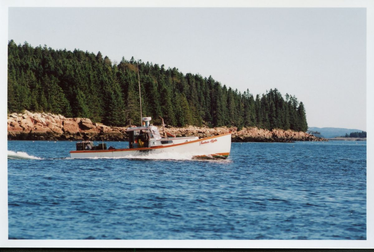Lobster Boat Tucker Hyde off the Eastern Shore of Placentia Island
