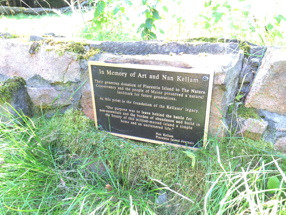 Plaque at the Site of the Arthur Millis and Leone Marie (Wemmert) Kellam Home