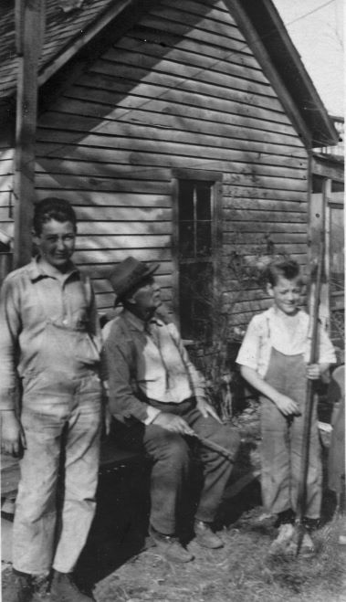 Francis Johnson Page with Clyde Page and Arthur Millis Kellam