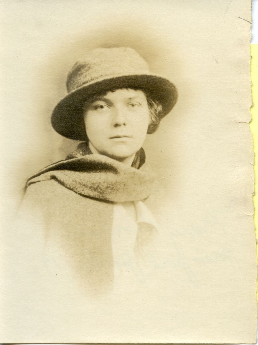 Mary Emma Wamsley Lenhard's Passport Photograph