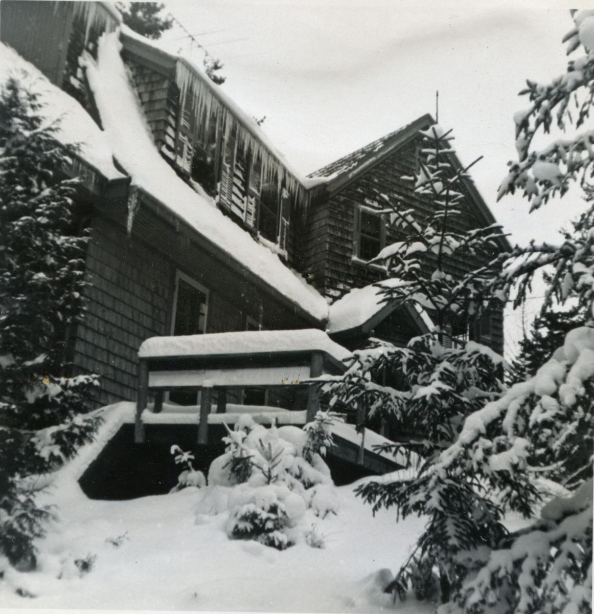 Conant Cottage in Winter