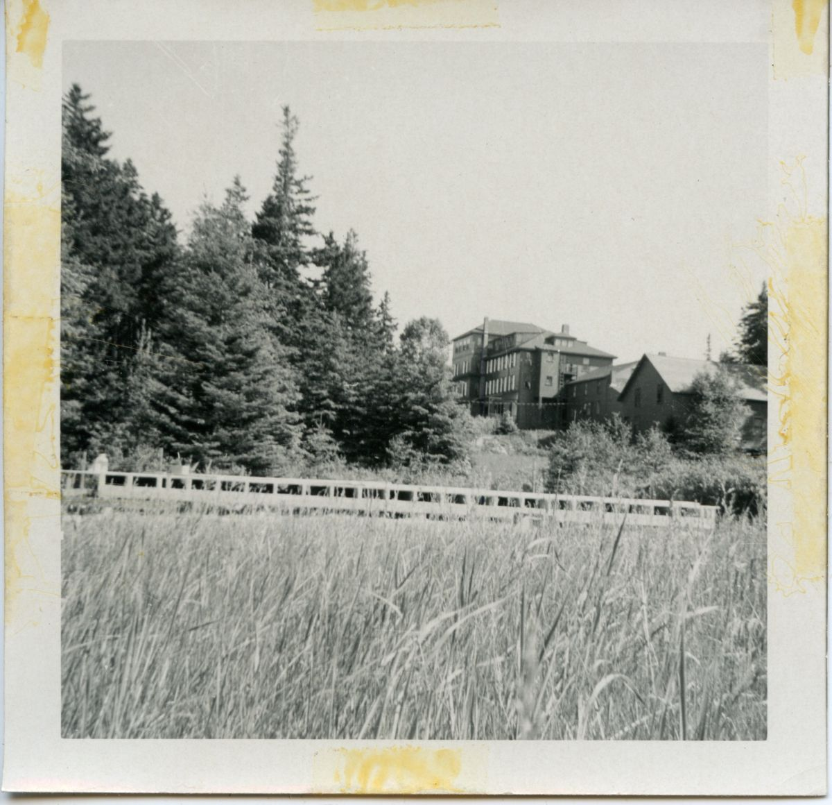View of Dirigo Hotel from the Conant Cottage