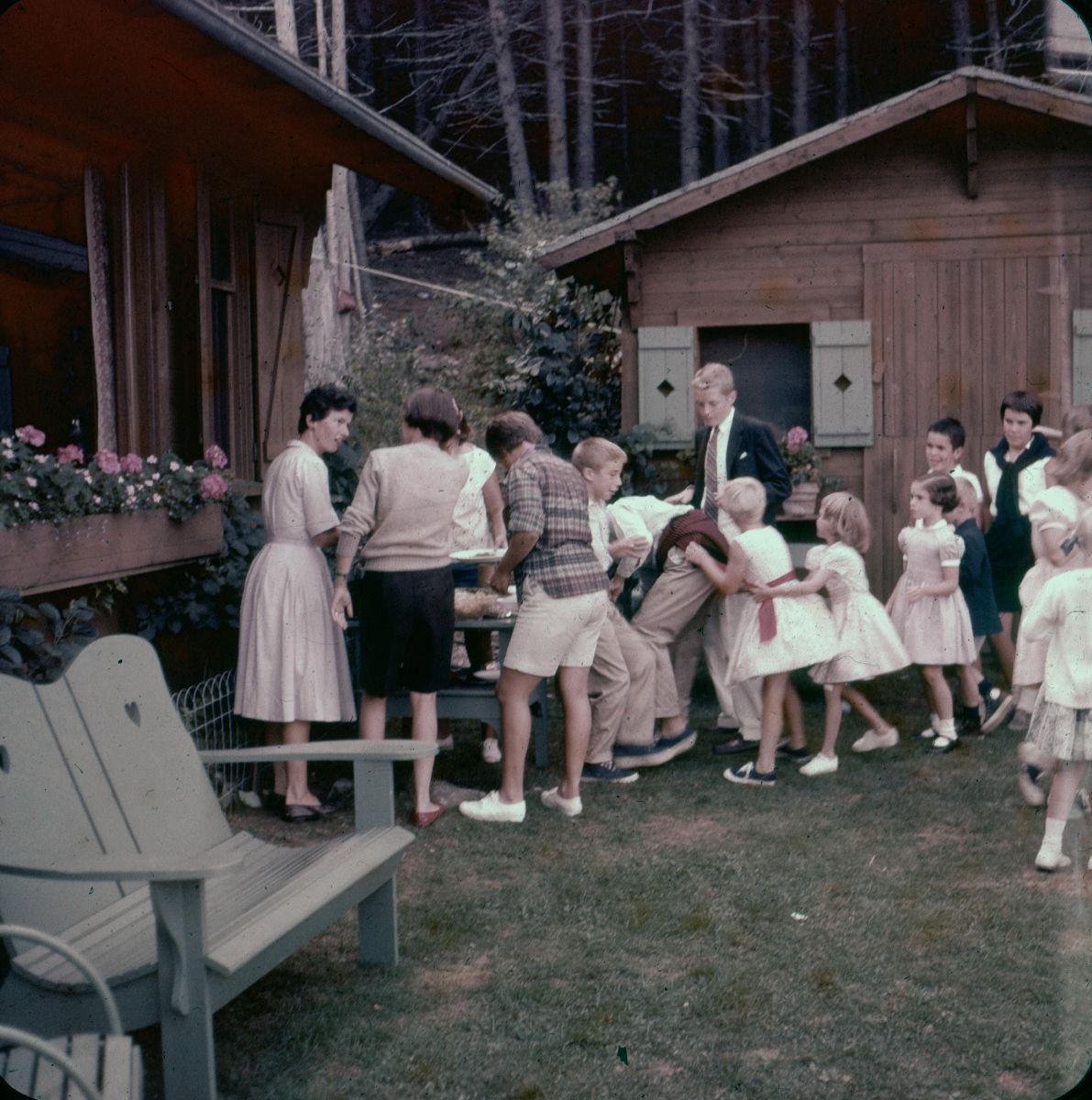 Hinckley Family Party at the Petit Chalet