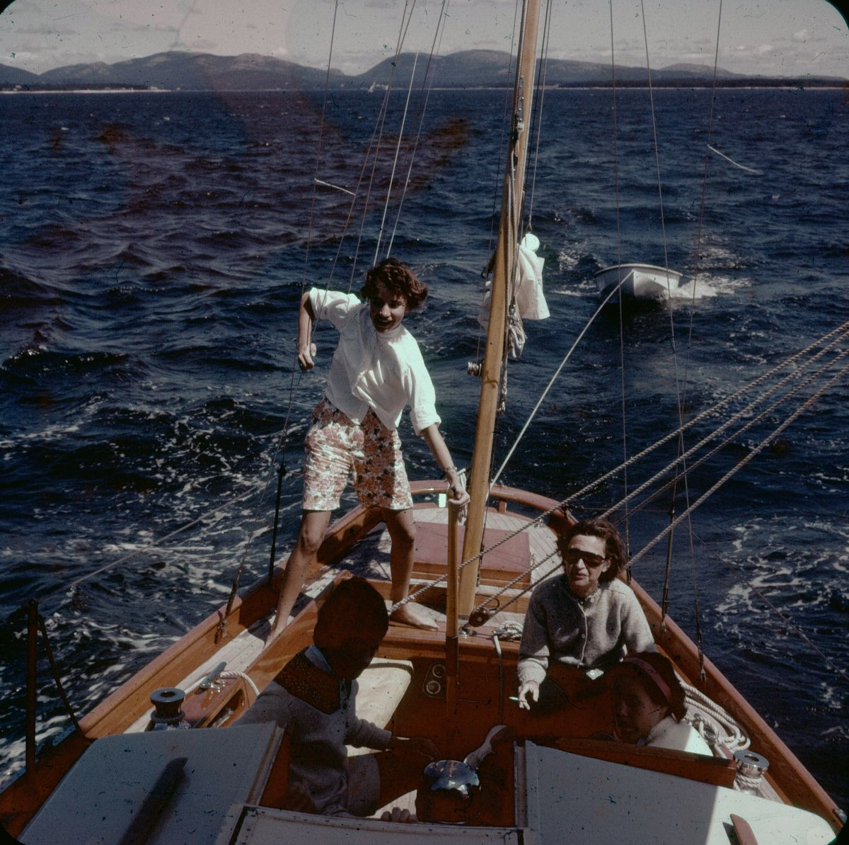 Penelope Hinckley at the Helm