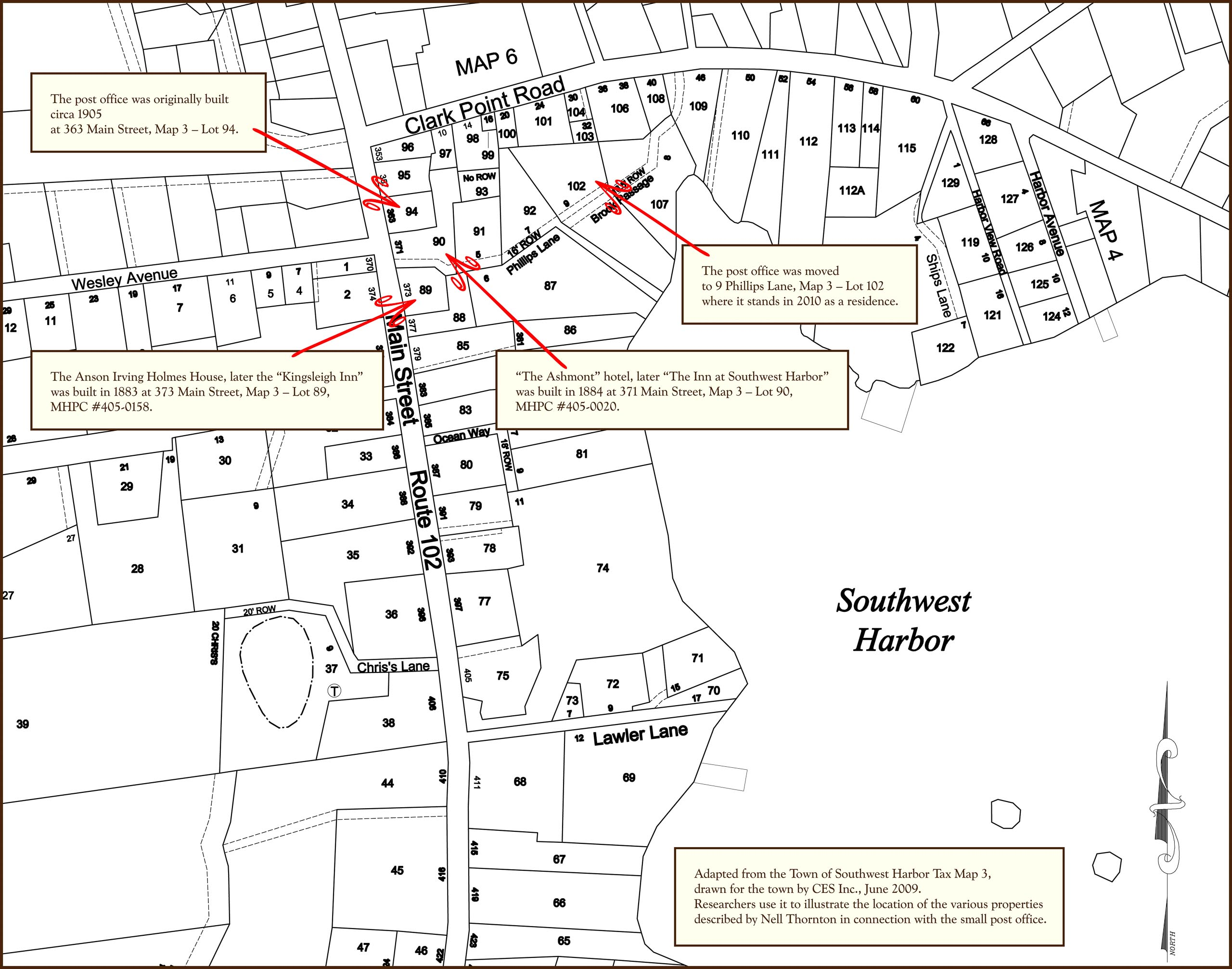 Town of Southwest Harbor - Tax Map 3