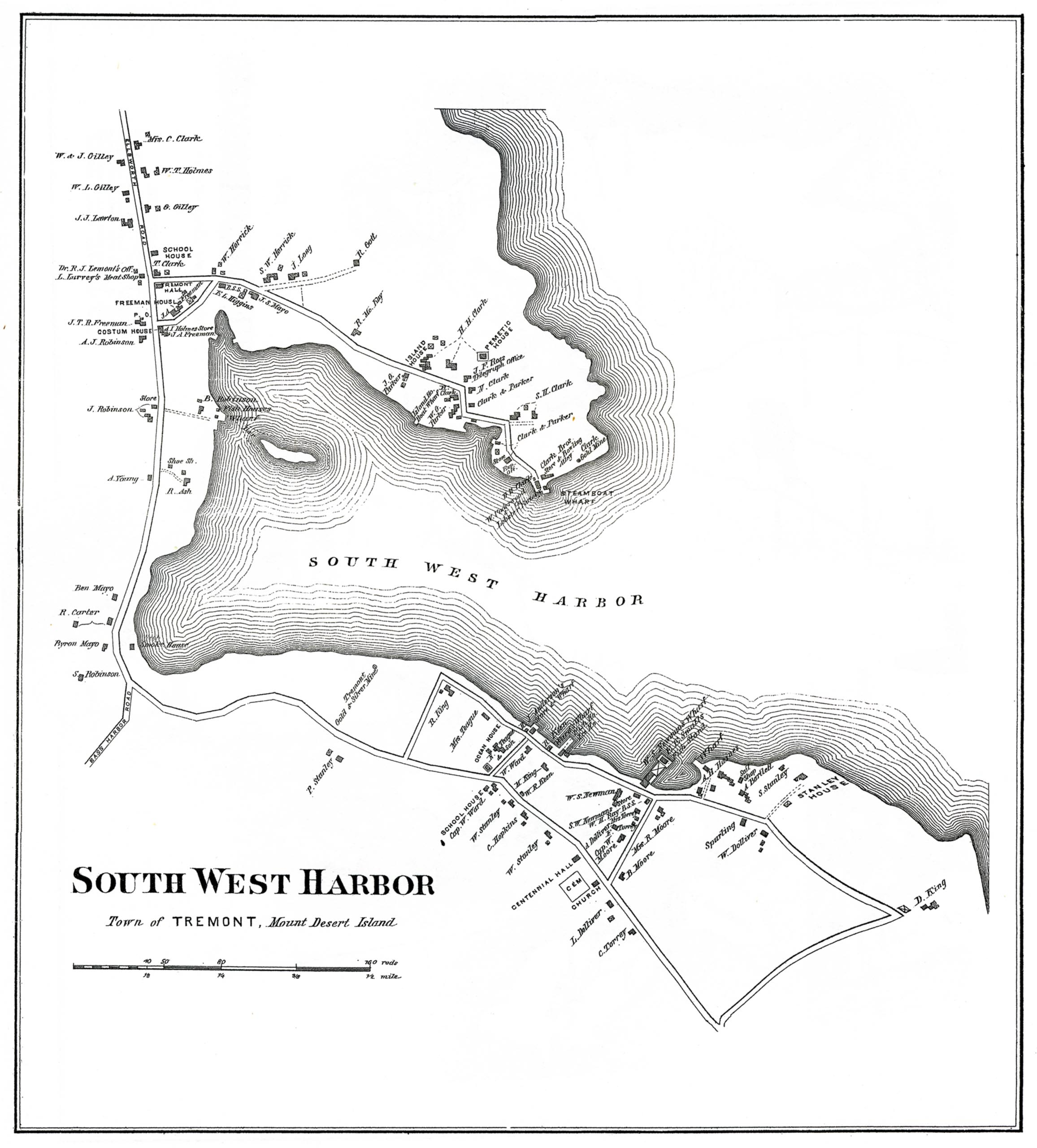 South West Harbor, Town of Tremont
