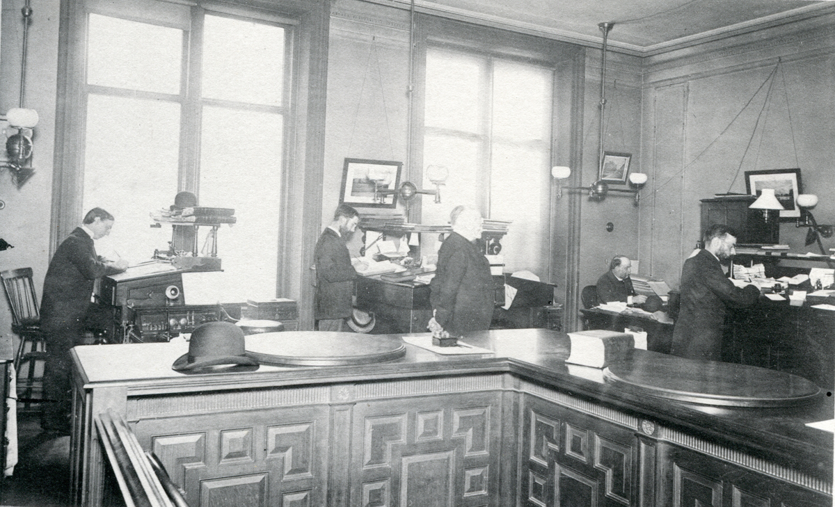 Henry Lathrop Rand's Office at 50 State Street, Room 17, Boston, Massachusetts