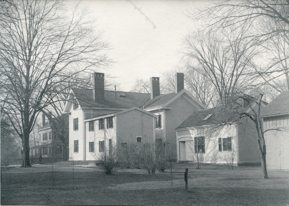 View from the Garden of the Henry Lathrop Rand House, Boston, Jamaica Plain