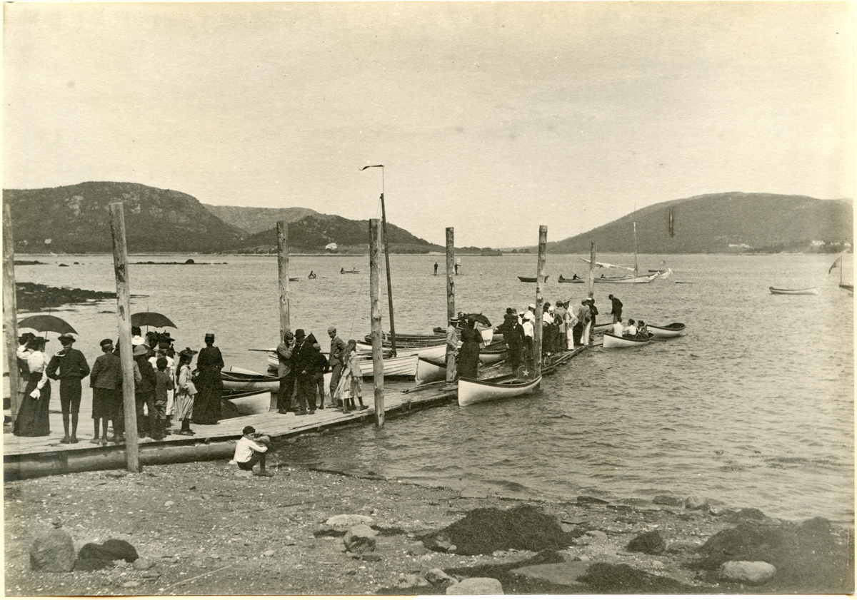 The Claremont Hotel Dock After the Sail Boat Race