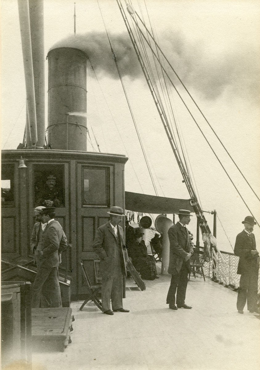 Deck of S.S. Yarmouth