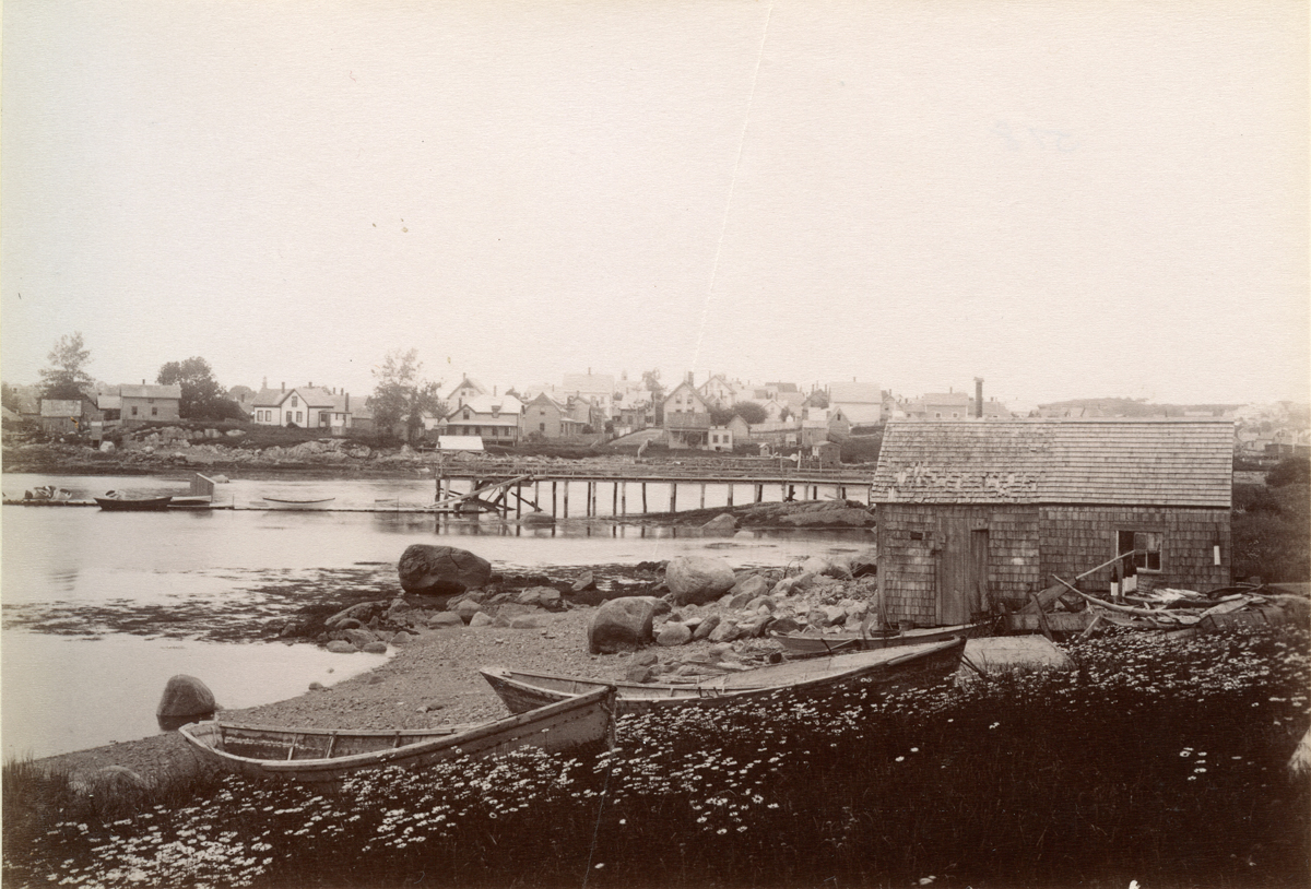 Fish Houses and Dories at East Gloucester