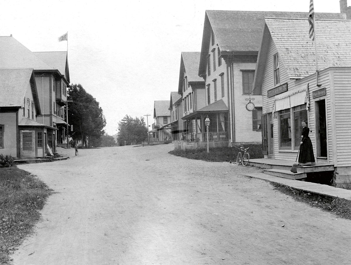 View to the South, Main Street, Southwest Harbor
