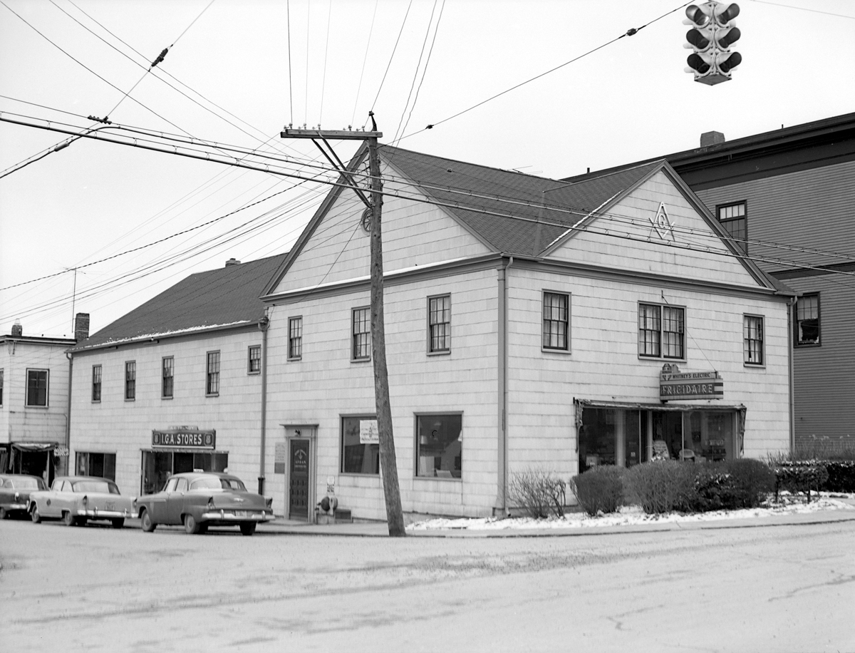Second Masonic Hall Building and Whitney's Electric Shop