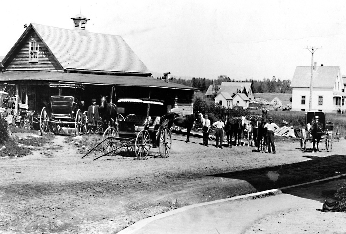 William E. Murphy and His Livery Stable