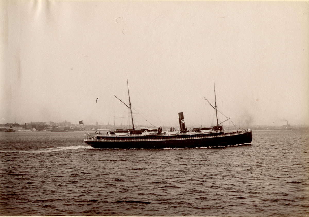 Olivette - Auxiliary Sail Steamer