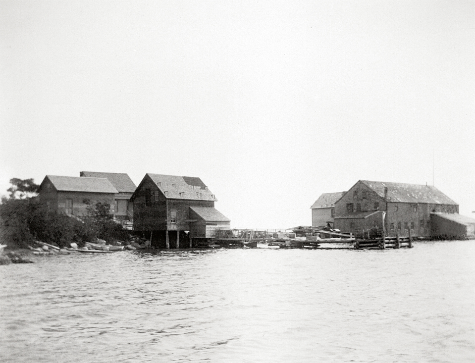 Steamboat Wharf From the Water