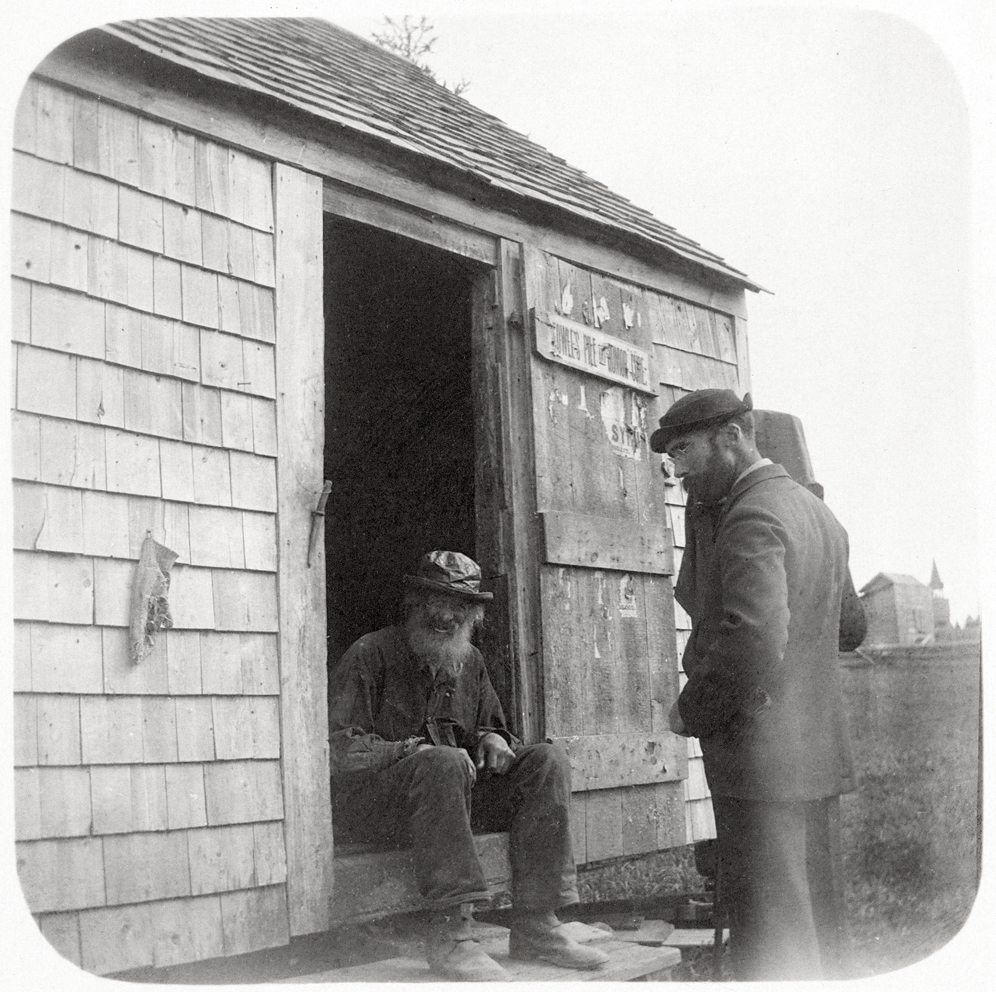 William Horace Herrick and Henry L. Rand at Bill's Shack