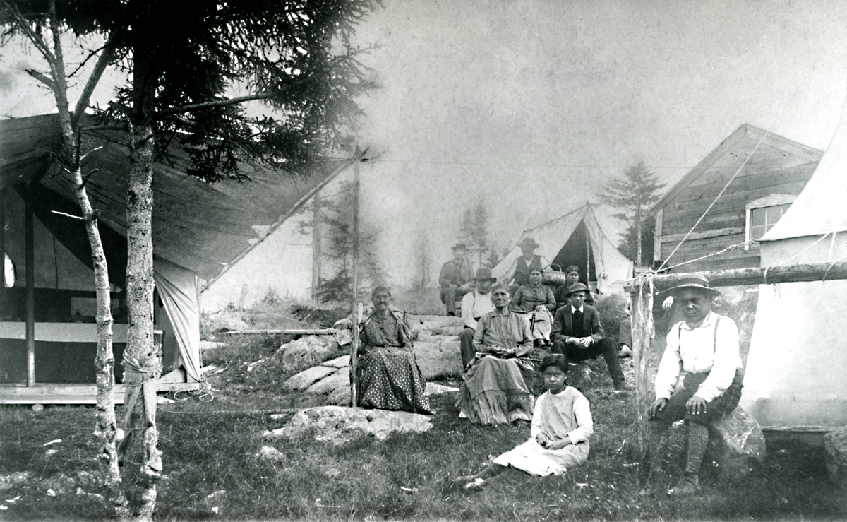 Indian Camp at Southwest Harbor - Indian Lot