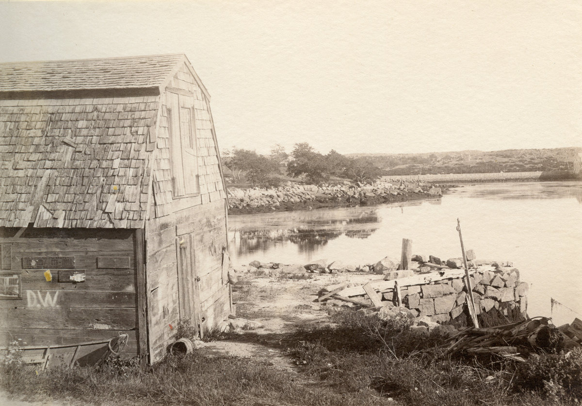 Old Fish House in Lobster Cove
