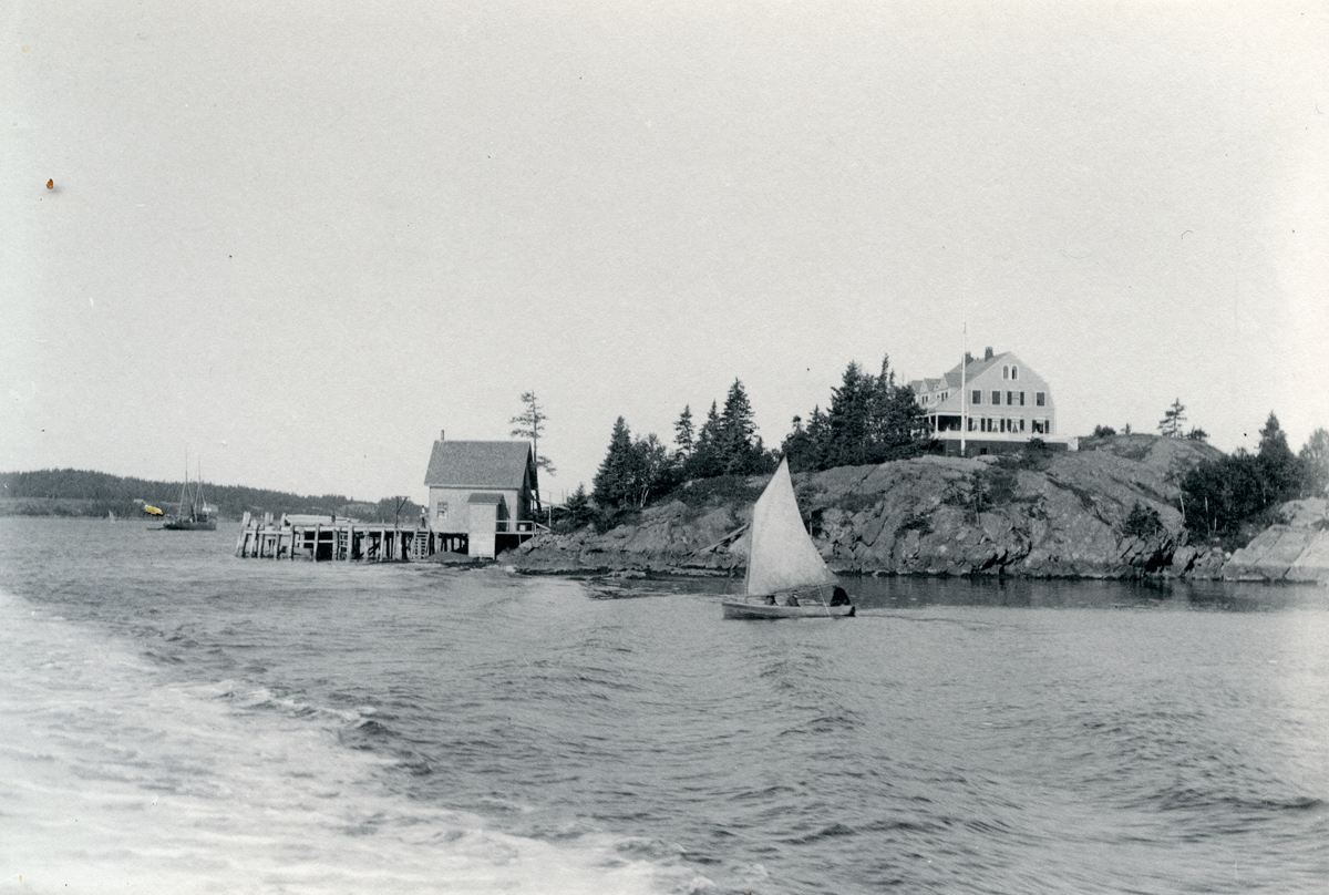 Dr. Weld's Point, North Haven, Maine