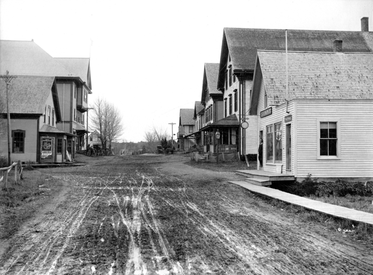 J.C. Ralph Studio on Main Street Looking South, Southwest Harbor