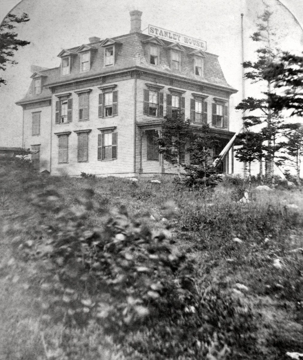 Original Stanley House Hotel with Mansard Roof