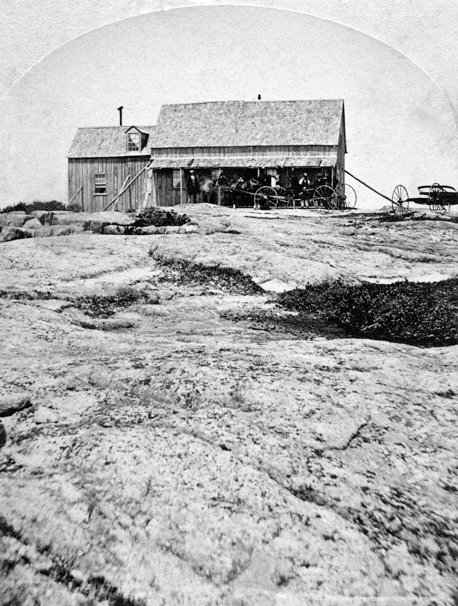 Daniel Webster Brewer's Mountain House on Green Mountain