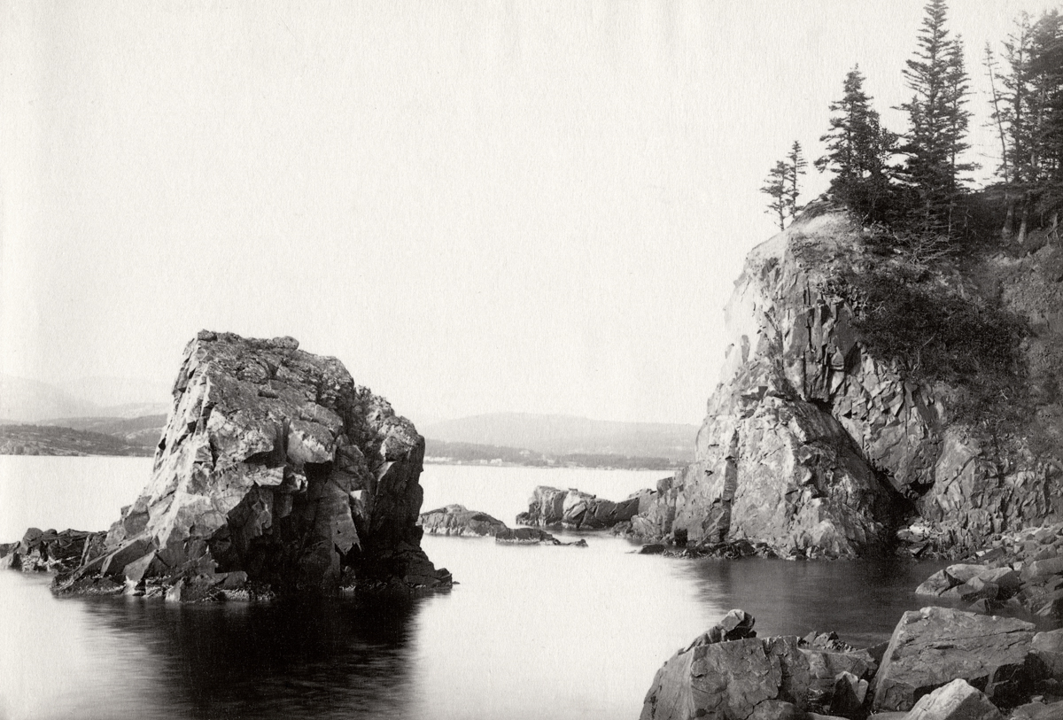 Cloisters and Isolated Rock at Sutton Island