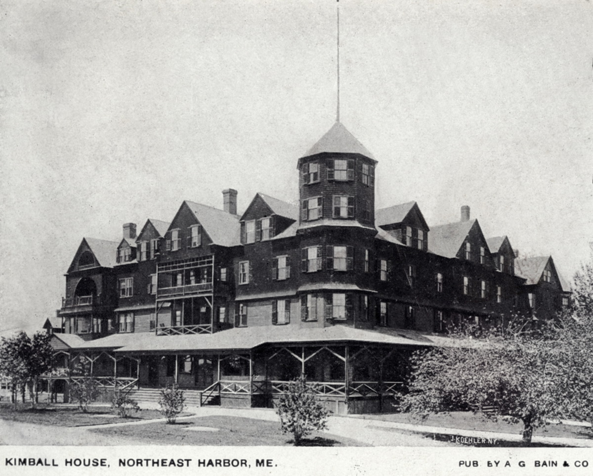 The Kimball House Hotel in Northeast Harbor