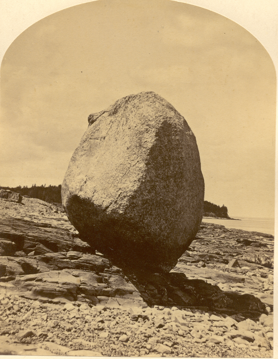 Balance Rock, Bar Harbor, Maine