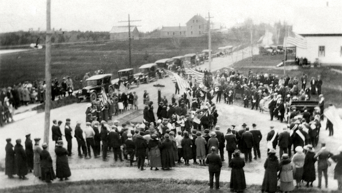 Dedication of Eugene M. Norwood Square - Memorial Day, May 28, 1923