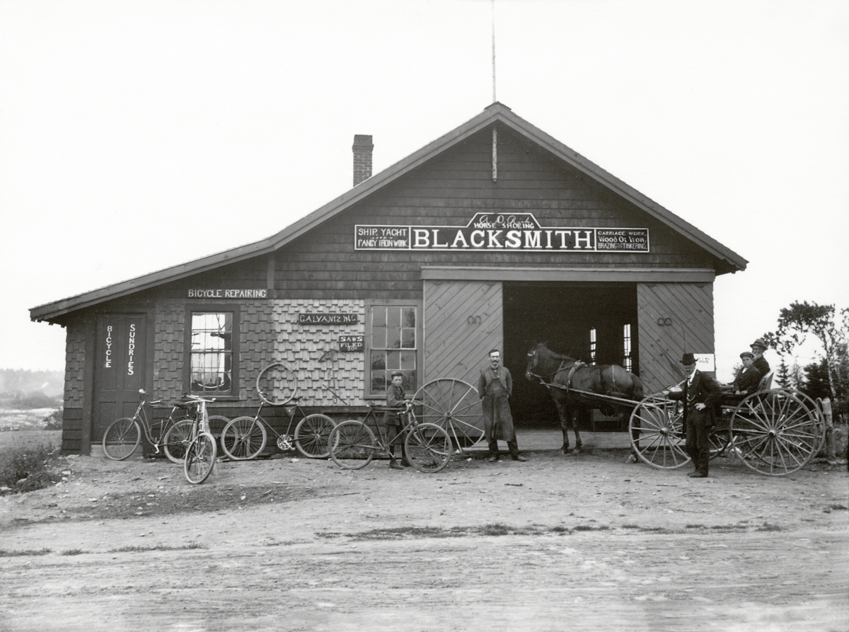 Alvah D. Rich, Blacksmith Shop