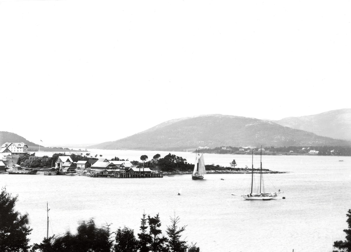 Clark Point and Claremont Hotel from Manset