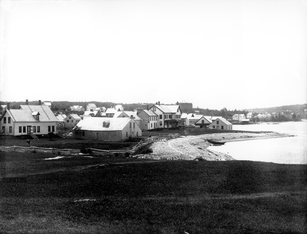 The Manset Shore from the Stanley House