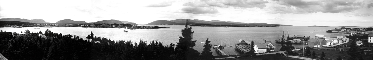 Southwest Harbor - View from Manset to Clark Point