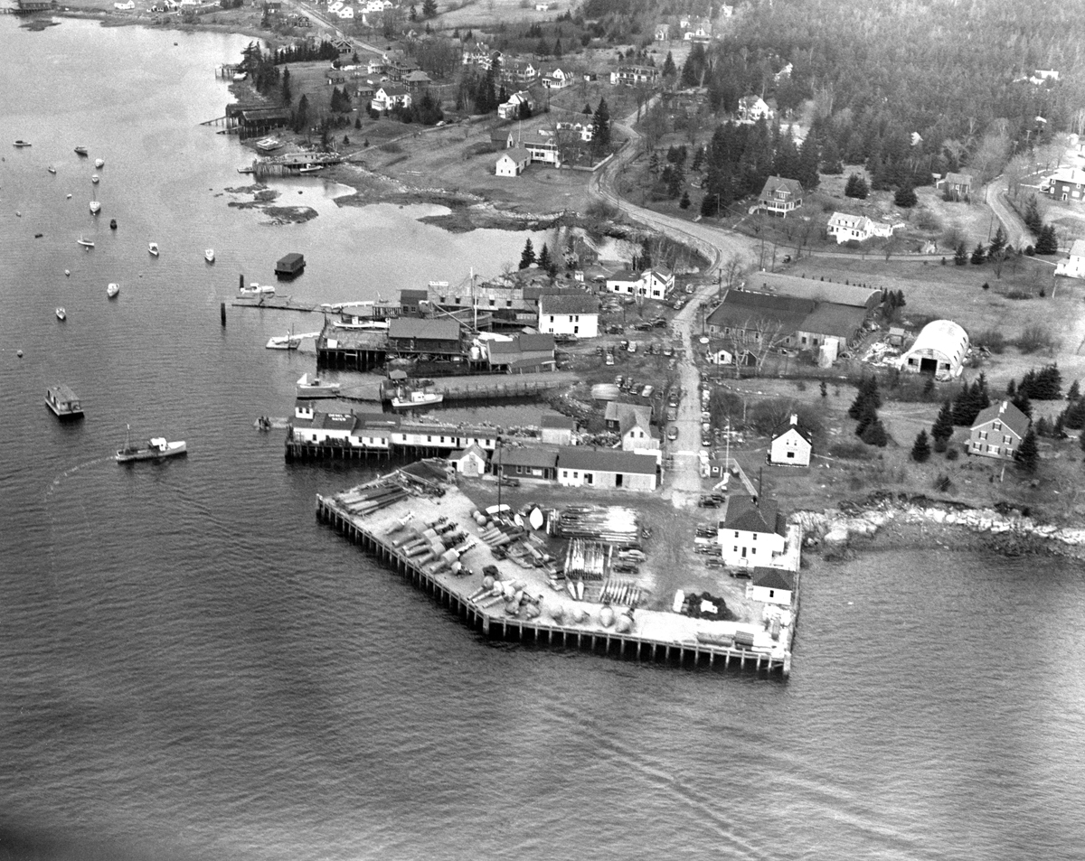 Buoy Depot on Clark Point at Old Steamboat Wharf Site