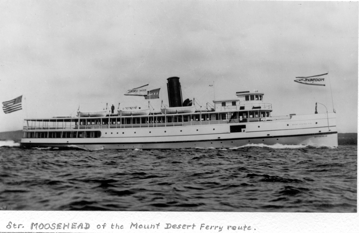 Steamer Moosehead of the Mount Desert Ferry Route