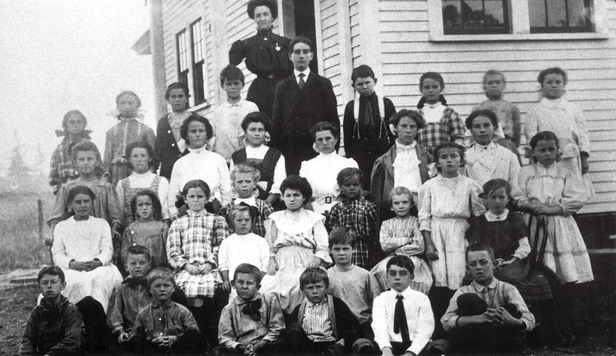 Students and Teacher of the McKinley School
