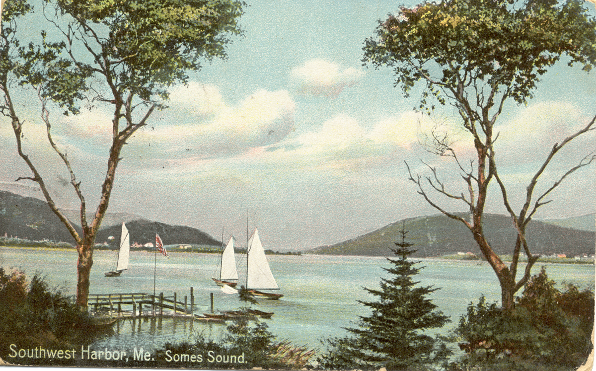 View of Somes Sound, Southwest Harbor, Maine